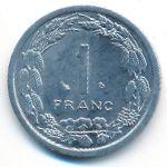 Центральная Африка, 1 франк (2003 г.)