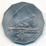 Фиджи, 50 центов (1976 г.)