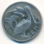 Виргинские острова, 50 центов (1975 г.)