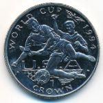 Гибралтар, 1 крона (1994 г.)