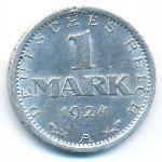 Веймарская республика, 1 марка (1924 г.)
