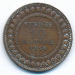 Тунис, 10 сентим (1916 г.)
