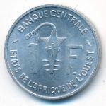Западная Африка, 1 франк (1971 г.)