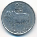 Ботсвана, 25 тхебе (1989 г.)
