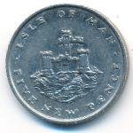 Остров Мэн, 5 новых пенсов (1975 г.)