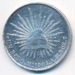 Мексика, 1 песо (1901 г.)