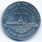 Джерси, 2 фунта (1985 г.)