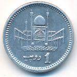 Пакистан, 1 рупия (2010–2012 г.)