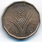 Свазиленд, 1 цент (1975 г.)