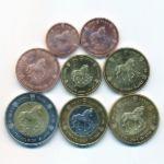 Исландия, Набор монет (2005 г.)