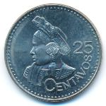 Гватемала, 25 сентаво (2011 г.)