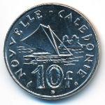 Новая Каледония, 10 франков (2001 г.)