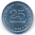Никарагуа, 25 сентаво (1987 г.)