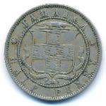 Ямайка, 1/2 пенни (1870 г.)