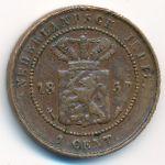 Нидерландская Индия, 1 цент (1857 г.)