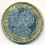 Китай, 10 юаней (2016 г.)