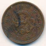 Япония, 1 сен (1885 г.)
