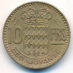 Монако, 10 франков (1950 г.)