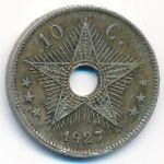 Бельгийское Конго, 10 сентим (1927 г.)