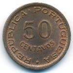 Гвинея-Бисау, 50 сентаво (1952 г.)