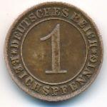 Веймарская республика, 1 рейхспфенниг (1931 г.)