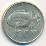 Исландия, 100 крон (1995–2001 г.)