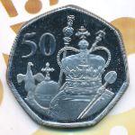 Британская Антарктика, 50 пенсов (2021 г.)
