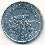 Джерси, 10 пенсов (2002 г.)