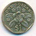 Сингапур, 1 доллар (1999 г.)