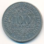 Западная Африка, 100 франков (1980 г.)