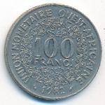 Западная Африка, 100 франков (1982 г.)