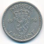 Норвегия, 1 крона (1956 г.)