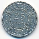 Белиз, 25 центов (2007 г.)