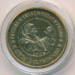 Ватикан, 10 евроцентов (2010 г.)