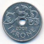 Норвегия, 1 крона (2008 г.)