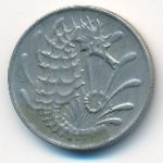 Сингапур, 10 центов (1973 г.)