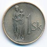 Словакия, 1 крона (2007 г.)