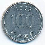 Южная Корея, 100 вон (1992 г.)