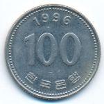 Южная Корея, 100 вон (1996 г.)