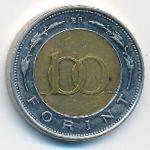 Венгрия, 100 форинтов (1997 г.)