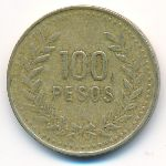 Колумбия, 100 песо (1992 г.)