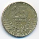 Коста-Рика, 25 колон (2001 г.)