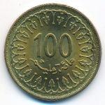 Тунис, 100 миллим (2008 г.)