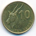 Замбия, 10 нгве (2012 г.)