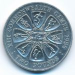 Гернси, 2 фунта (1986 г.)