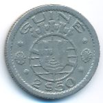 Гвинея-Бисау, 2,5 эскудо (1952 г.)