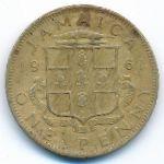 Ямайка, 1 пенни (1961 г.)