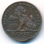 Бельгия, 1 сентим (1907 г.)