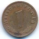 Третий Рейх, 1 рейхспфенниг (1939 г.)