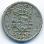 Ангола, 2,5 эскудо (1967 г.)
